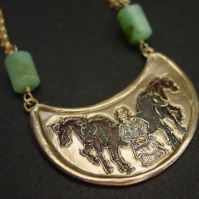Epona | Goddess of the horses - necklace