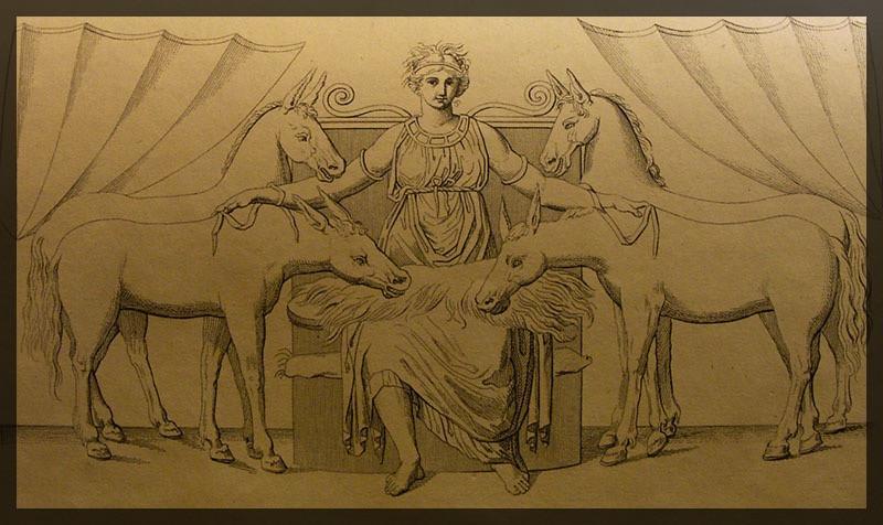 Epona from the Circus Maximus at Rome (Roma, Italy)