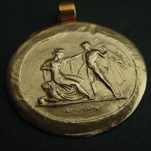 Hermes visiting Persephone - Pendant