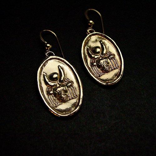 Hathor earrings no stone