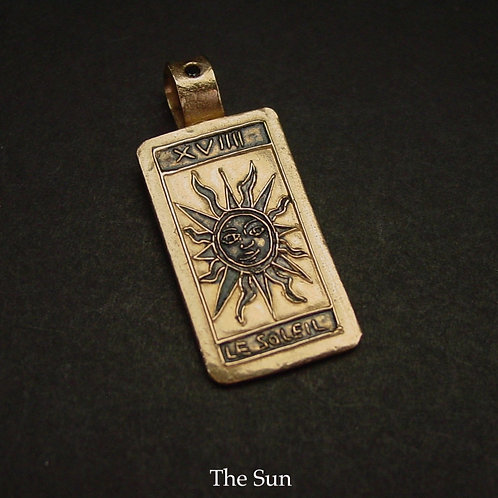 Tarot Card The Sun Pendant