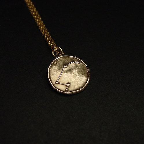Aries constellation necklace