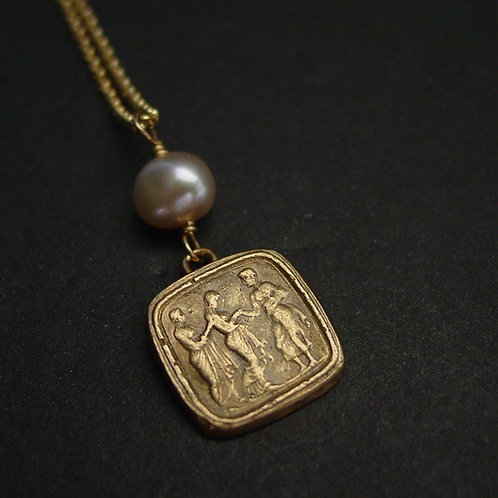 Penelope and Odysseus | Ulysses - Necklace