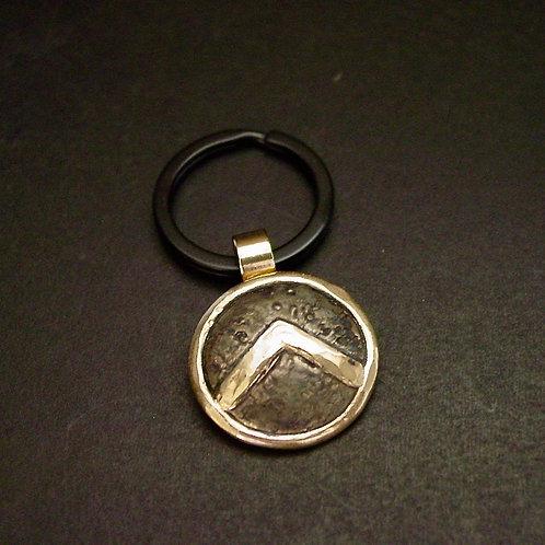 Spartan Shield keychain