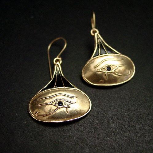 Eye of horus earrings