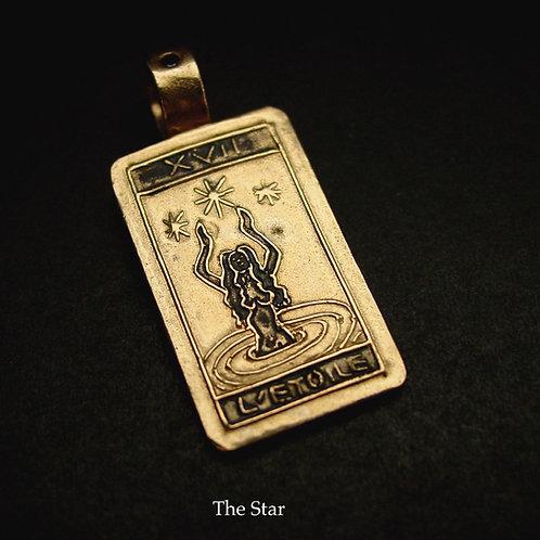 Tarot Card The Star Pendant