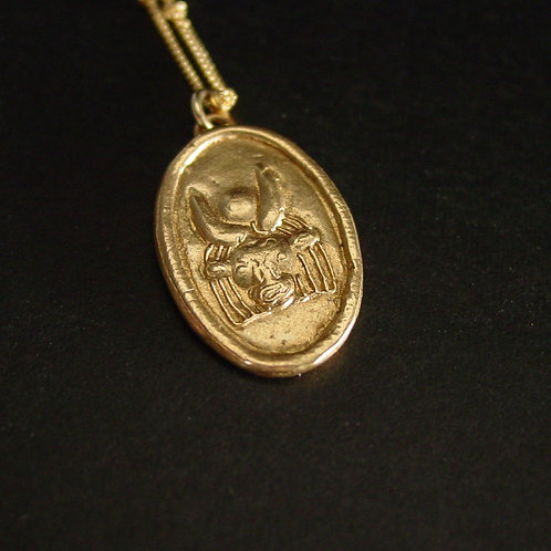 Hathor necklace close up