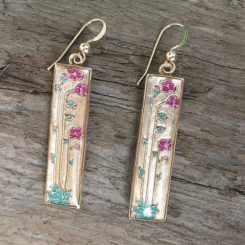 Purslane earrings