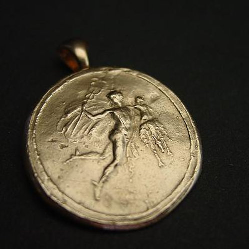 Hermes carrying Tyche - Pendant