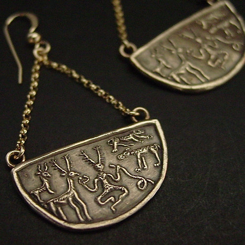 Cernunnos earrings