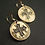 Occitan | Crusade cross earrings