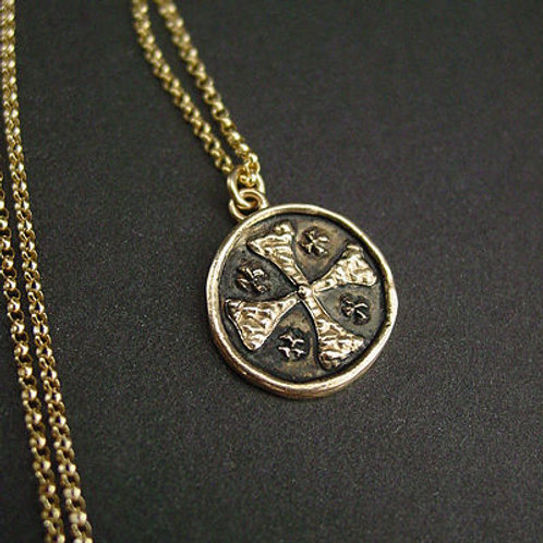 Small Jerusalem Cross - Pendant