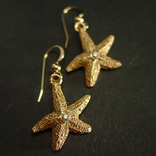 Baby Starfish earrings