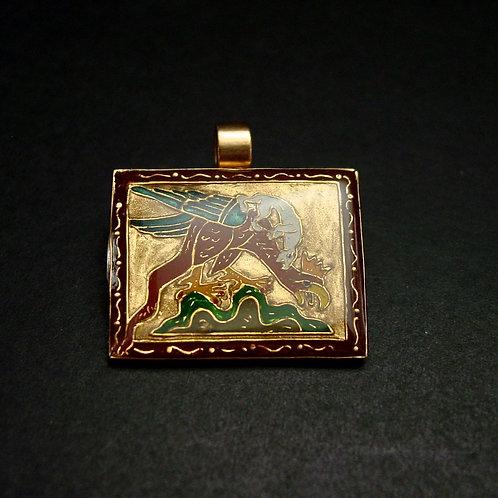 Basilisk pendant