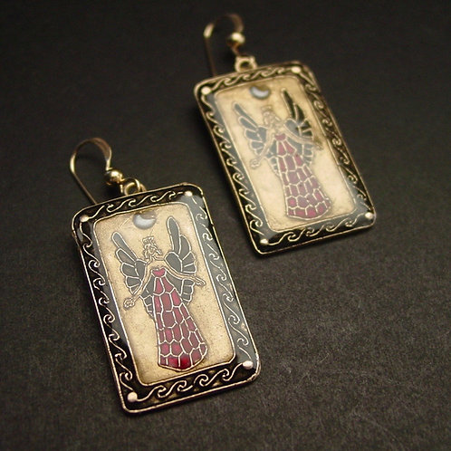 Lady of the Beasts earrings