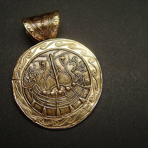 Viking Barge (overseen by Njord) - Pendant