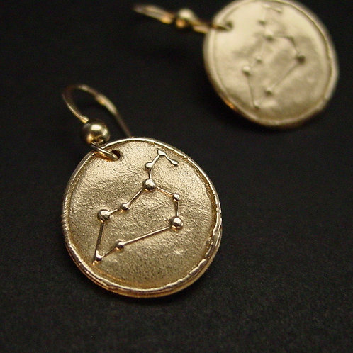 Leo Zodiac Horoscope constellation earrings