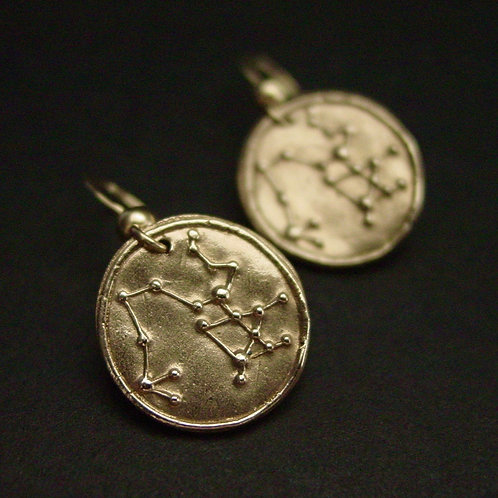 Sagittarius zodiac horoscope constellation earrings