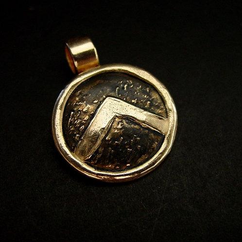 Spartan Shield pendant