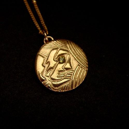 Leo zodiac necklace