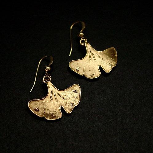 Ginkgo earrings small