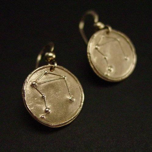 Libra Zodiac horoscope constellation earrings