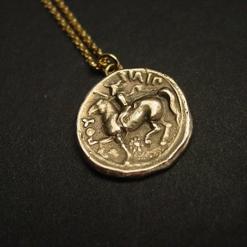 Philip II coin - Necklace