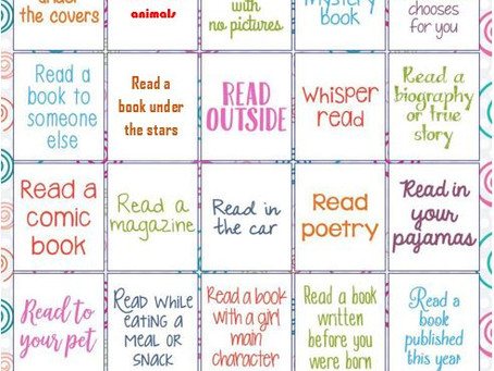 25 Day Reading Challenge.