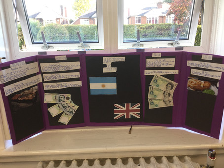 Year 5 & 6 South America Projects