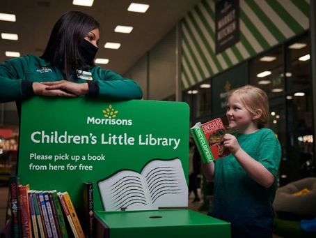 Morrisons 'Little Library' Book Exchange