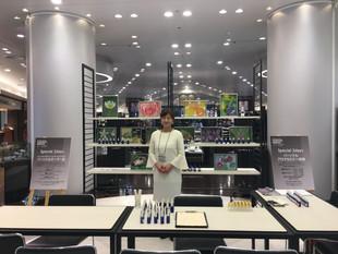 阪急men's大阪 特設スペース 調香セミナー2DAYS