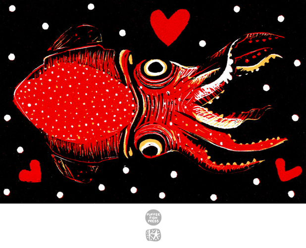 Cephalopod Love (Squid)