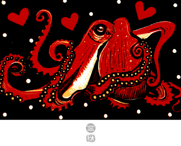 Cephalopod Love (Octopus)