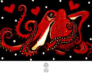 Cephalopod Love (Octopus)