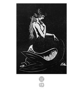 Pensive Mermaid