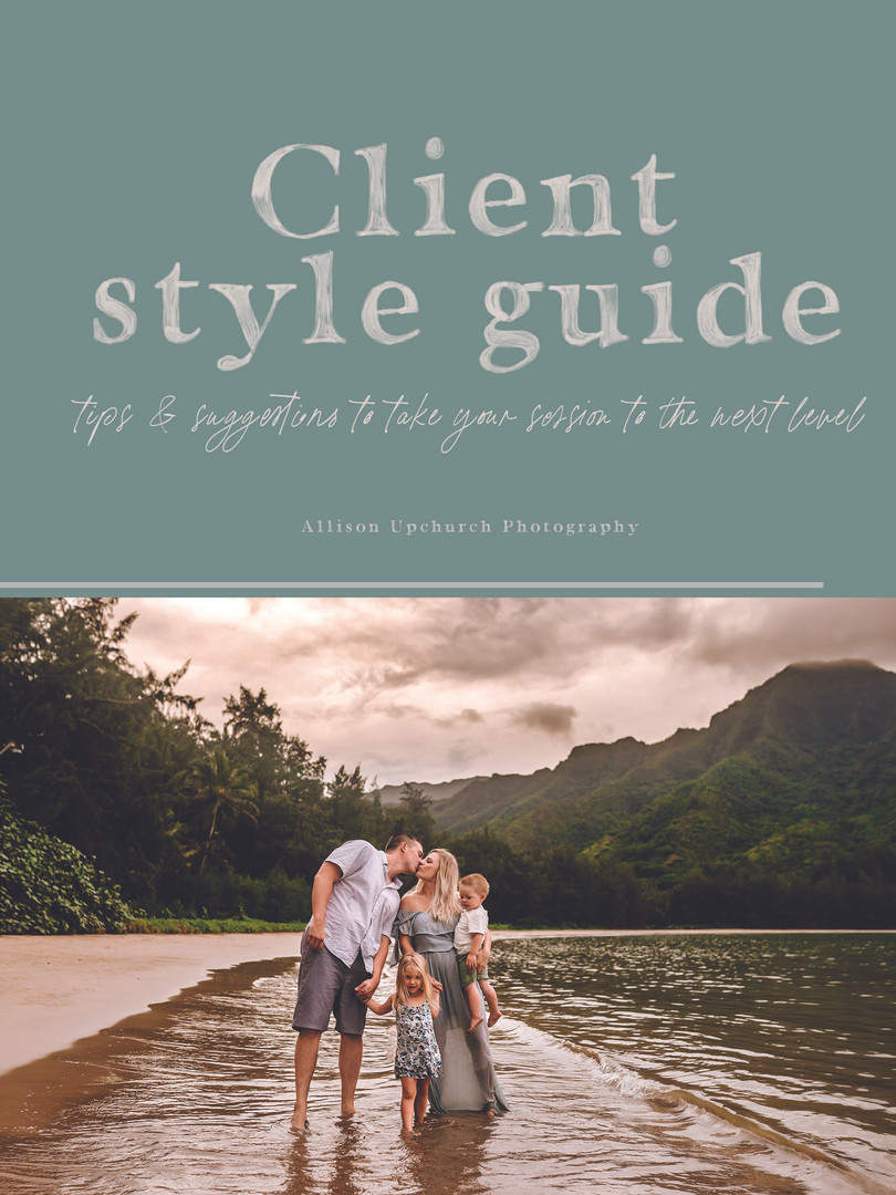 Allison Upchurch Style Guide