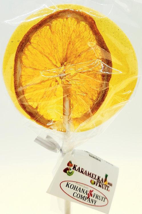 Karamelka with Fruit Single Lollipop