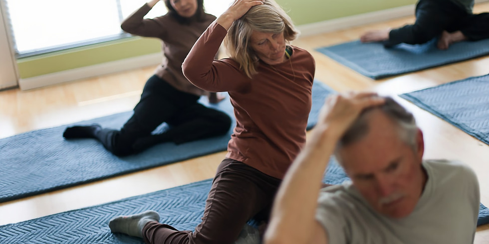Free Your Neck & Shoulders: A Feldenkrais® Awareness Through Movement® Workshop with Jenn Brown