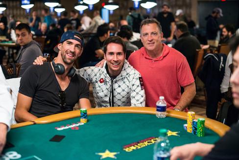 Michael Phelps_Jeff Gross_2018 WSOP_EV28