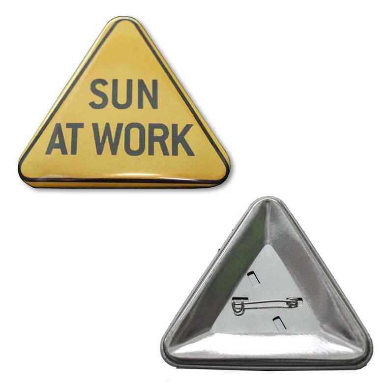 Botón Triangulo