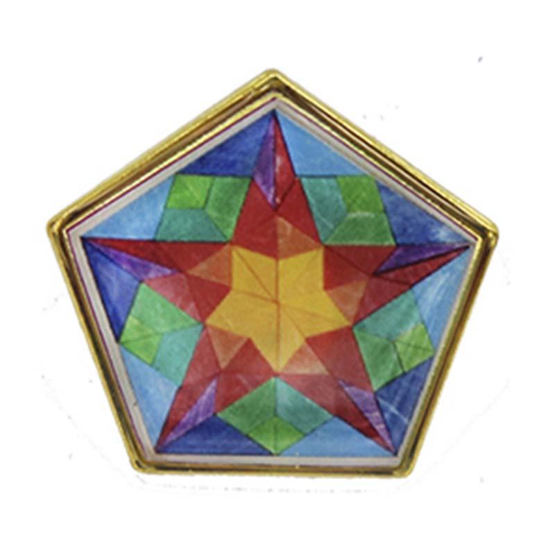 Pin Pentagono