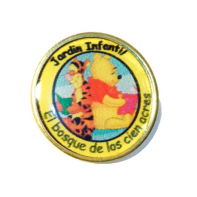 Pin Redondo Dorado