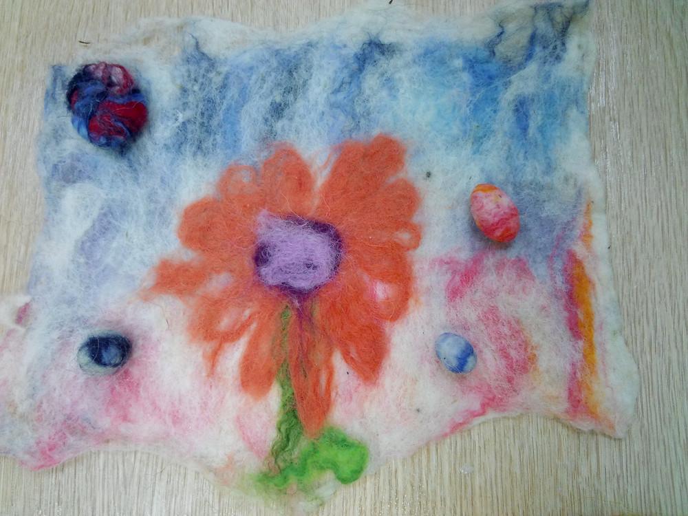 Цветик Алисы (9 лет) - а каким она сама была цветком в сегодняшнем спектаклике!