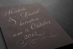 Einladung für Hochzeit