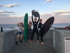 Teens at The Wall