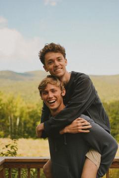 Matt & Josh at Camp Sentinel Cru Retreat