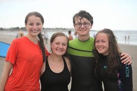 Volunteers at Surfing w/ Smiles 7/19
