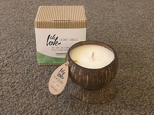 We love the planet - coconut candles