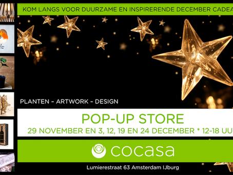 Pop-up store - duurzame en inspirerende decembercadeaus