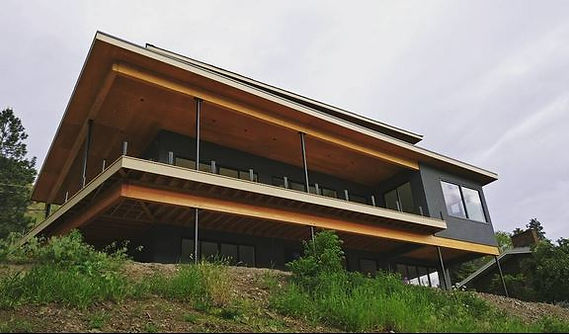 Modern Knox Mountain House Kelowna Nido Design